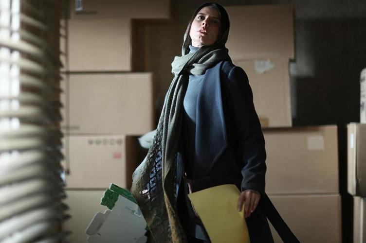 لیلا حاتمی در «رگ خواب». عکس: امیرحسین شجاعی
