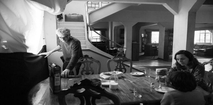 کوارون برای لوبسکی از فیلمبرداری «روما» میگوید
